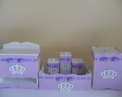 Kit de Higiene 6 pe�as- Princesa Lil�s