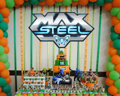 Painel - Max Steel