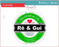 Convite Digital Boteco Verde