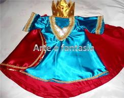 fantasia infantil Rei Davi 1