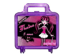 Maletinhas* Monster High* Personalizadas