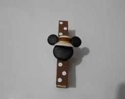 Prendedor Mickey safari com im�.