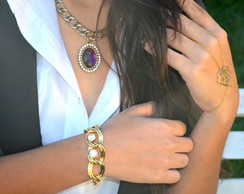 COLE��O SAM TRENDS - PULSEIRA CHARMING