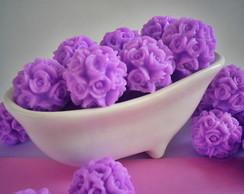 Banheirinha Mini esfera de rosas