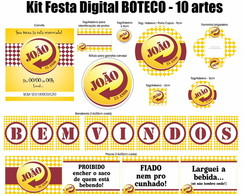 Kit Festa Digital Boteco - Skol