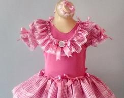 Caipira Infantil modelo Barbie
