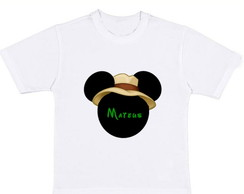 Camiseta Mickey Safari