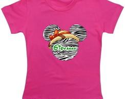 Camiseta Minnie Safari