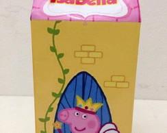 Caixa Milk Peppa Pig Princesa das Fadas