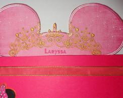 Convite da Princesa Minnie