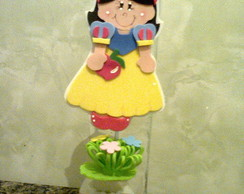 Centrinho acril�co Branca de neve