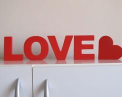 love em mdf+ corac�o