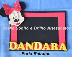 PORTA RETRATO MINNIE - VERMELHA
