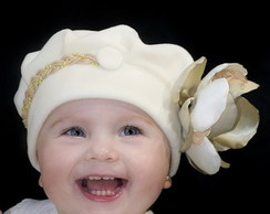 Boina Infantil Princess Perola
