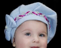 Boina Infantil azul beb�