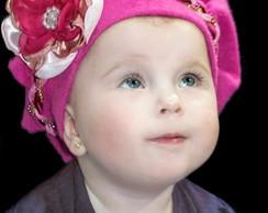 Boina Infantil Princess Pink