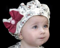 Boina Infantil Amore com la�o