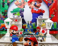 Decora��o Mesa Clean Mario Bros