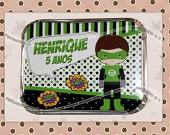 Marmitinha Personalizada Lanterna Verde