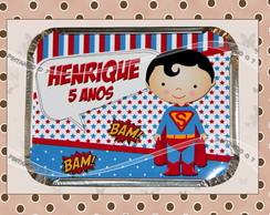 Marmitinha Personalizada Superman