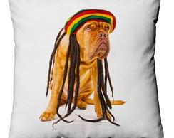 Capa para almofada Dog Hippie