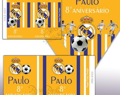 Kit P/ Guloseimas Real Madrid