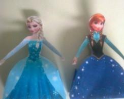 Caixinha de guloseimas Frozen