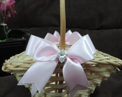 cesta de vime para florista