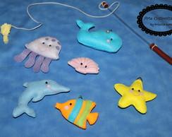 Pescaria em Feltro ( com 6 )