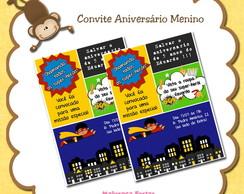 Convite Quadrinhos