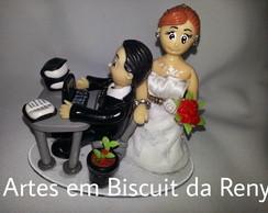 Novinhos de Biscuit modelo fofinho