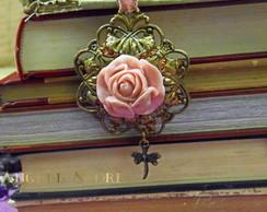Marcador de p�ginas Rose Vintage