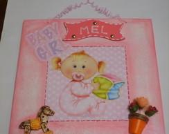 Quadro Personalizado Baby Girl