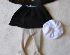 Vestido de l� Para Beb� RN (Conjunto)