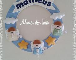 Porta de maternidade menino