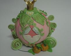 Topo de bolo Carruagem da Cinderela