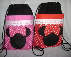 mochila infantil minie