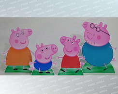 Kit 04 Display De Mesa Peppa Pig