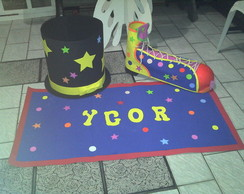 KIT PE�AS DECORA��O CIRCO