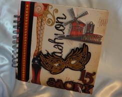 """Livro de Assinaturas """"Moulin Rouge"""""""