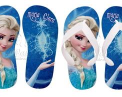 Chinelos Personalizados - Elsa 01