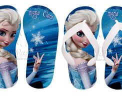 Chinelo Personalizado - Elsa 02