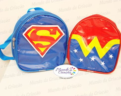 Mochila Costas Super Her�is Tam. M- Lona