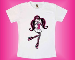 camiseta cole��o Monster High
