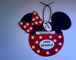 Convite de Anivers�rio Minnie ou Mickey