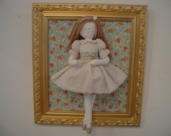 (MA 0179) Quadro maternidad boneca Dolls