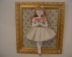 (MA 0180) Quadro maternidad boneca Dolls