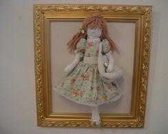 (MA 0181) Quadro maternidad boneca Dolls