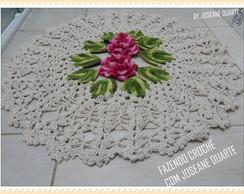 tapete floral avulso mede 70 cm