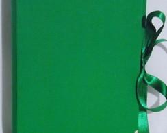 �lbum de Fotos Verde e Amarelo 10 x 15.
